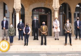 Rueda de prensa alcalde- Presentación IMSS Base de Datos