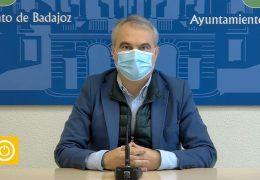 Rueda de prensa alcalde de Badajoz – Situación COVID en la ciudad