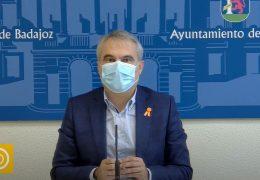 Rueda de prensa alcalde de Badajoz  -Actuaciones COVID19 fin de semana