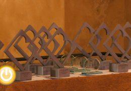Acto de entrega de los Premios Ciudad de Badajoz 2020