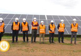 Rueda de prensa alcalde- Inauguración planta fotovoltaica