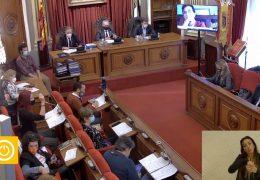 Pleno Ordinario del mes de Noviembre del Ayuntamiento de Badajoz.