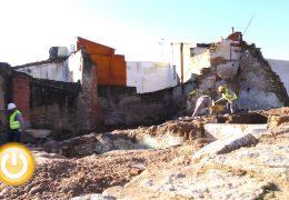 Rueda de prensa alcalde- Visita obras El Campillo