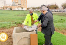 Grupo Preving coloca la primera piedra de su nueva sede en Badajoz