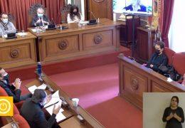 Pleno ordinario y extraordinario de diciembre Ayuntamiento de Badajoz.