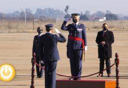 Jesús Rodríguez de Castro asume el mando de la base aérea de Talavera