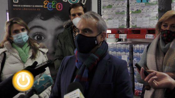Rueda de prensa alcalde- Banco de Alimentos