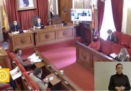 Pleno Ordinario de Enero 2021 Ayuntamiento de Badajoz