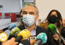 Rueda de prensa alcalde- Visita hospital campaña Ifeba