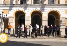 Badajoz condena un nuevo asesinato por violencia machista en Vizcaya