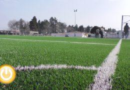 Villafranco del Guadiana ya disfruta de nuevo campo de fútbol de césped
