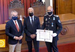 Entrega Medalla Mérito Civil Inspector Policía Local