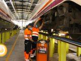 Las obras de la estación ferroviaria de Badajoz están ejecutadas al 70%