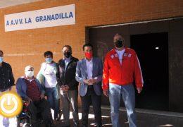 Rueda de prensa PSOE- Visita a la Asociación de Vecinos La Granadilla