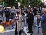 Emotivo homenaje de la banda municipal a personalidades destacadas