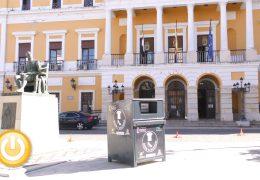Rueda de prensa Alcalde- Presentación contenedores de ropa