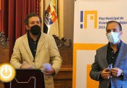 Rueda de prensa Vivienda- Plan Municipal de Vivienda de Badajoz