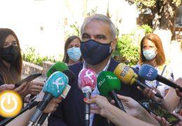 Rueda de prensa Alcalde-Visita edificio La Galera