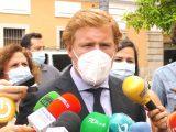 Rueda de prensa- Ignacio Gragera, alcalde en funciones
