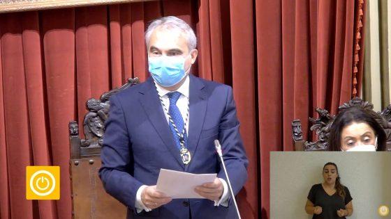 Pleno Extraordinario- Renuncia del alcalde Francisco Javier Fragoso