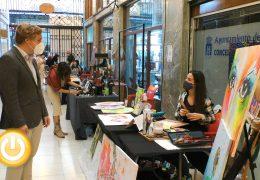 Rueda de prensa Alcalde en funciones- Visita Pasaje de arte