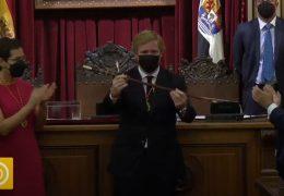 Pleno de investidura de Ignacio Gragera como alcalde de Badajoz
