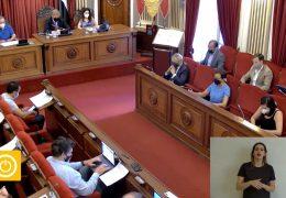 Pleno ordinario de junio de 2021 del Ayuntamiento de Badajoz
