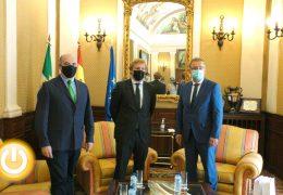 El embajador de República Checa en España visita Badajoz