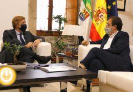 Rueda de prensa alcalde – Reunión con presidente de la Junta de Extremadura