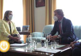 Rueda de prensa – Reunión del alcalde con la Delegada del Gobierno