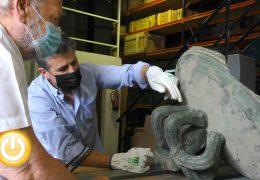 La campana de la Torre de Espantaperros viaja hasta el taller que fabricará la réplica