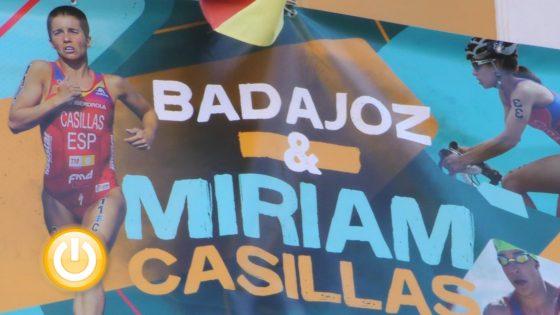 El Ayuntamiento muestra el apoyo de toda la ciudad a la triatleta Miriam Casillas