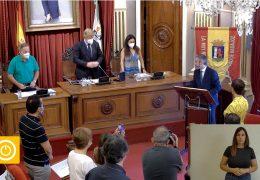 Pleno ordinario de julio de 2021 del Ayuntamiento de Badajoz