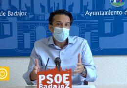 Rueda de prensa PSOE- Obras Plaza de Santa Marta
