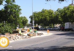 Badajoz renovará 3.000 metros cuadrados de aceras al mes