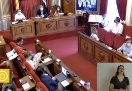 Pleno extraordinario de Agosto 2021 Ayuntamiento de Badajoz