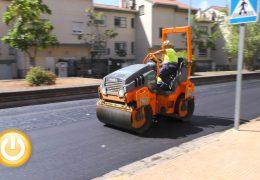 Comienza la campaña de asfaltado para mejorar medio centenar de calles de la ciudad