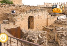 Ya está en marcha la actuación para la conservación de dos espacios intramuros de la Alcazaba