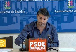 Rueda de prensa PSOE- Fundación Municipal Deportes