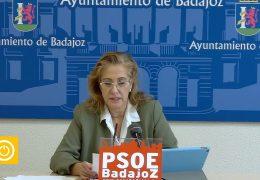 Rueda de prensa PSOE- Parque Tres Arroyos