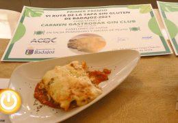 Entregados los premios de la Ruta de Tapa Sin Gluten 2021