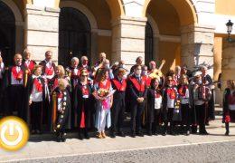 Actos – Recepción a la Tuna de Mayores de Badajoz