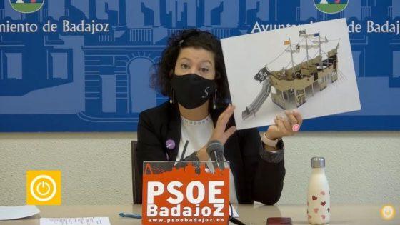 Rueda de prensa PSOE- Barriada de San Roque
